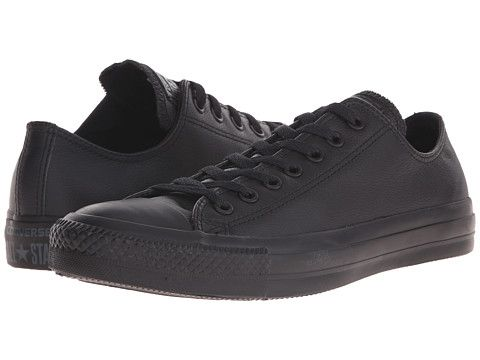 Converse Chuck Taylor All Star Läder Ox Sneakers Herr Svarta KXU25427