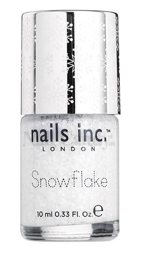 Nails Inc Kensington Church Street Snowflake Nail Effects - Nail Candy 101