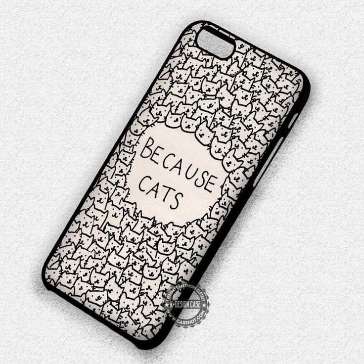 Because Cat  - iPhone 7 6s 5c 4s SE Cases & Covers