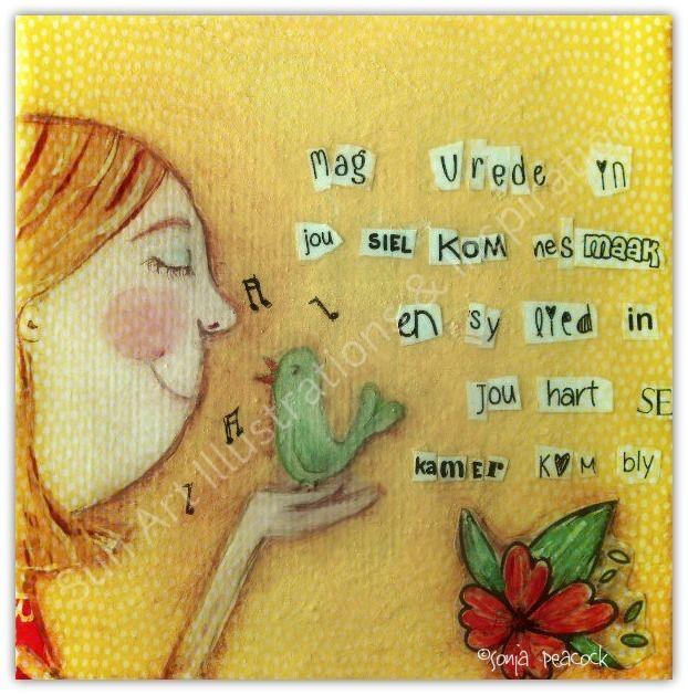 Mag vrede in jou siel kom nesmaak via Sun Art Illustrations