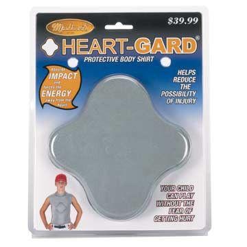 Markwort Heart Guard Protective Body Shirt - Youth - Grey