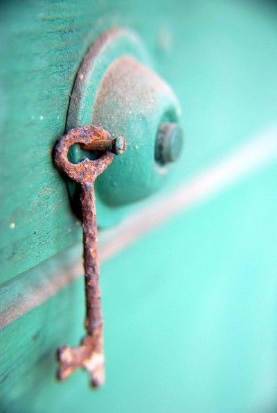 I've always had a soft spot for keys. This one looks as if it unlocks a door to a very bright, magical place.
