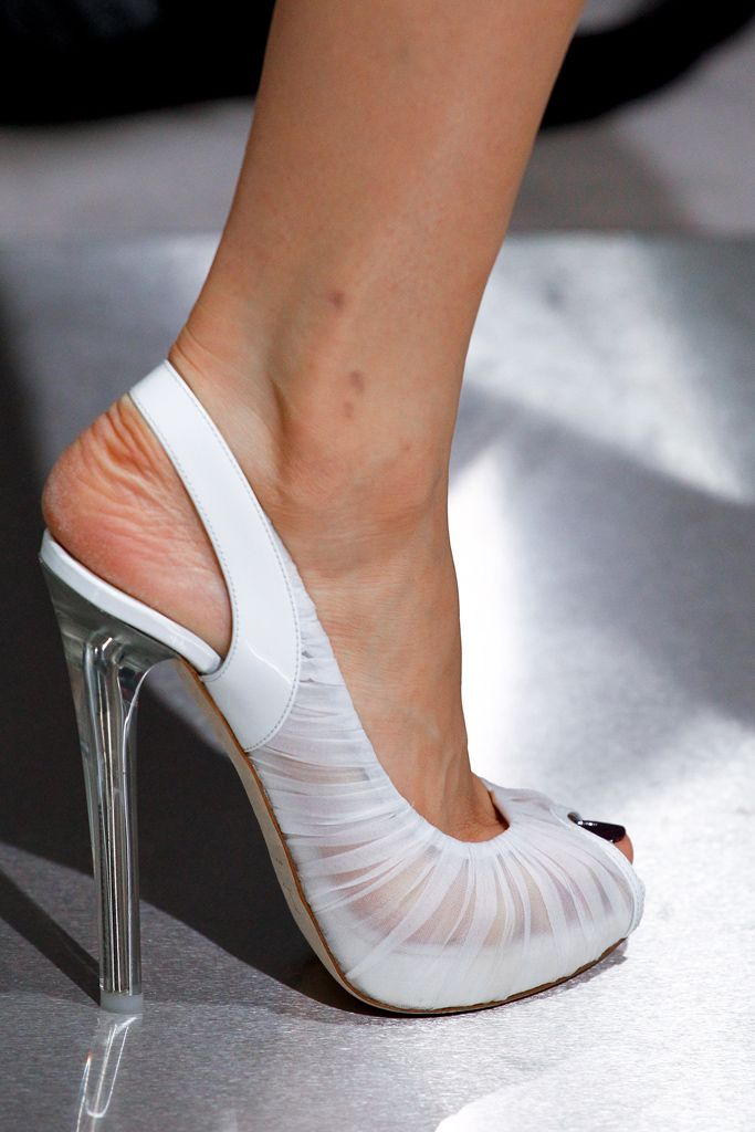 Christian Dior 2012. Perfect wedding shoes.