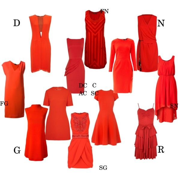 red dress for kibbe types by moara on Polyvore featuring polyvore, fashion…
