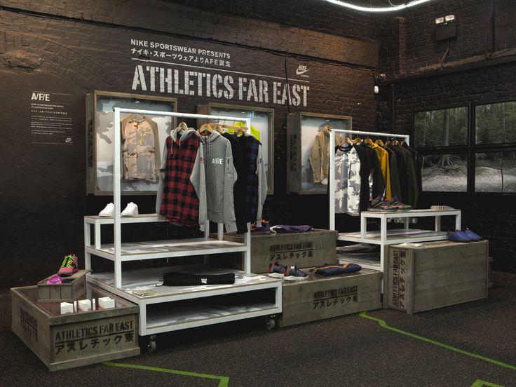 Sports Store | Retail Design | Shop Interior | Sports Display | Athletics  Far East |