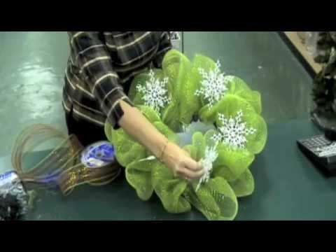 Geo Mesh Wreath Instruction Video - YouTube