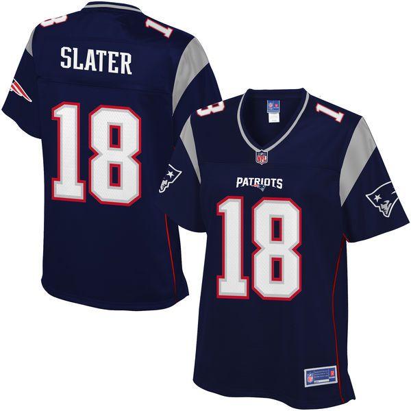 Women's New England Patriots Matthew Slater NFL Pro Line Navy Team Color Jersey - $99.99