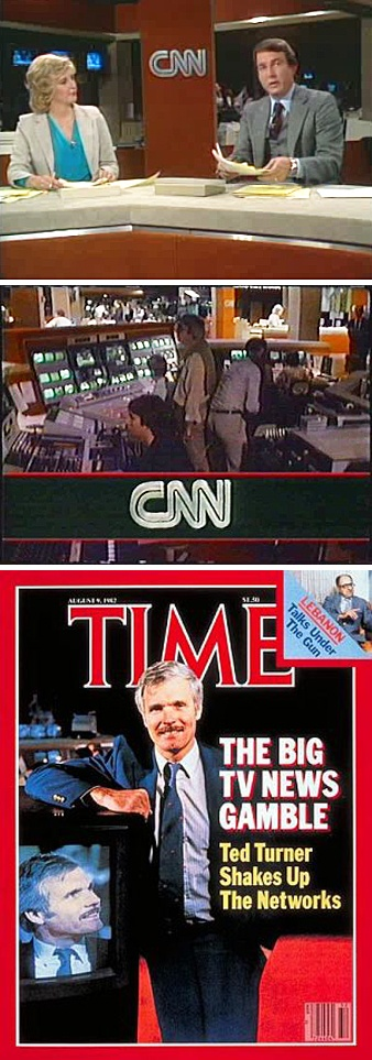 The Cable News Network is launched at 5:00 p.m. EST on Sunday June 1, 1980. After an introduction by Ted Turner, the husband and wife team of David Walker & Lois Hart anchored the first newscast.
