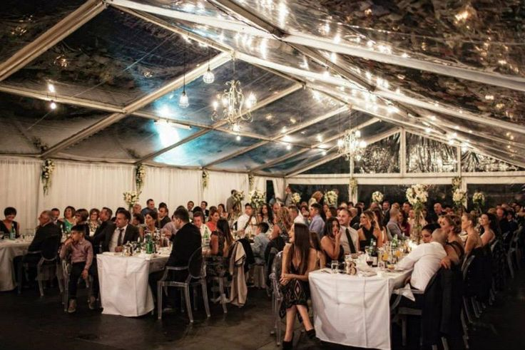 E&J Wedding #clearroofmarquee #underthestars