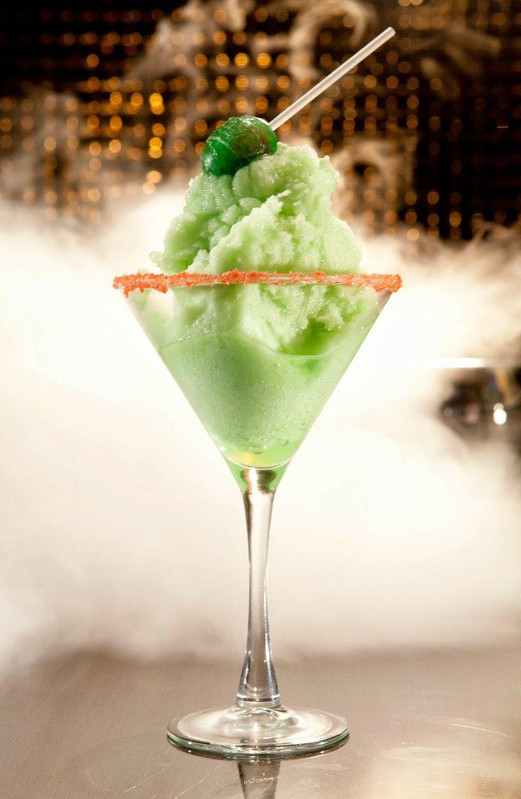 Liquid Nitrogen Infused Blow Pop Cocktail At Sugar Factory in Las Vegas
