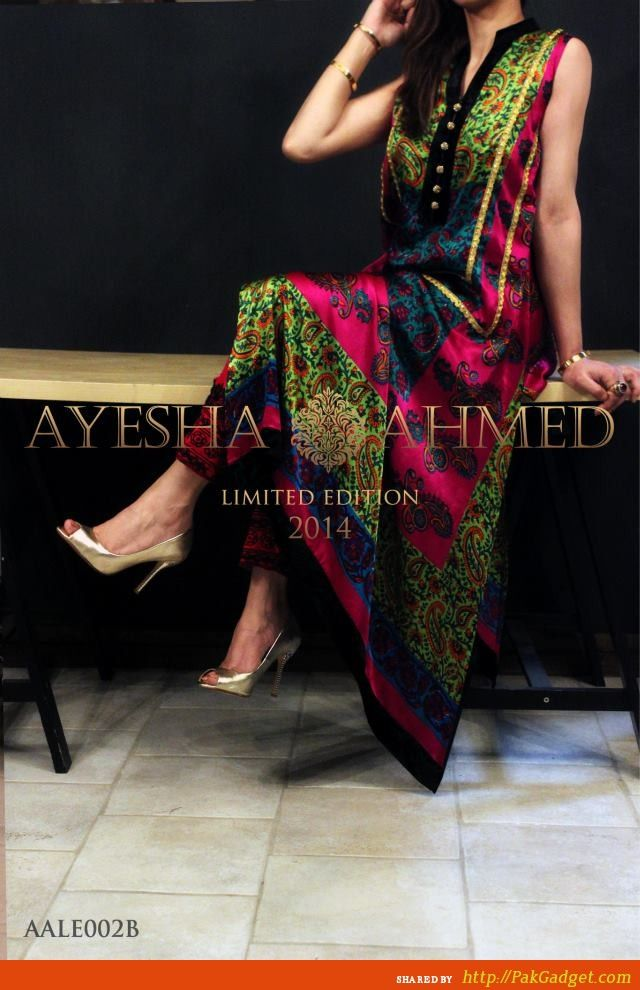 Limited Edition Boring Fashion Wear from Ayesha Ahmed - Gul Ahmed, Firdous Lawn, Sana Safinaz, Swiss Lawn