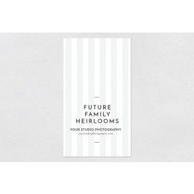 Packaging Stickers: Family Heirlooms