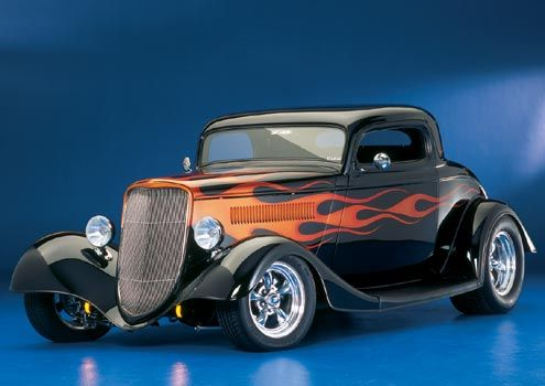 '34 Ford 3 window coupe
