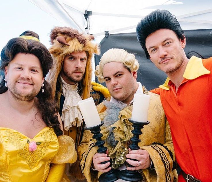 The Crossway Theatre Conpany presents Beauty and the Beast for The Late Late Show with James Corden