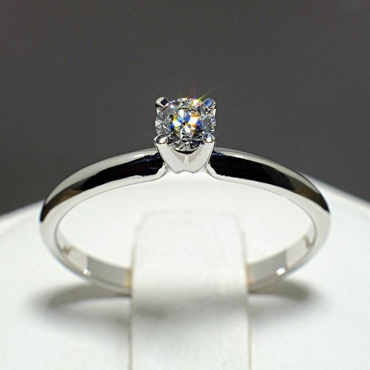 Inel din aur cu diamant galben model i007