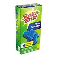 Scotch-Brite Disposable Toilet Scrubber Refills, 6 Refills by Scotch-Brite. $7.49. Disposable toilet Bowl Cleaner refills, with built-in cleaner, work wonders on your toilet bowl in conjunction with the scrubber handle provided in the starter kit.