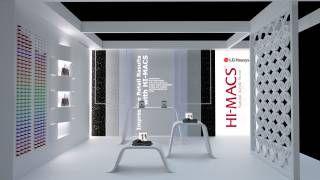HI-MACS® tra forme, luci e colori, parteciperà nel 2016 a IMM Colonia, che si svolgerà dal 18 al 24 gennaio.