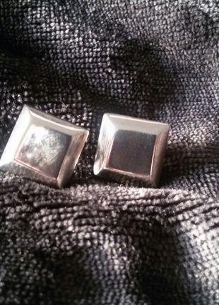 Kaufe meinen Artikel bei #Kleiderkreisel http://www.kleiderkreisel.de/accessoires/ohrringe/94566120-quadratisch-praktisch-gut-silberstecker-925er-silber