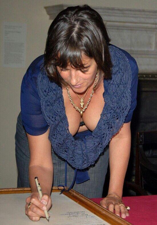 13 Best Downblouse Images On Pinterest  Older Women -9318