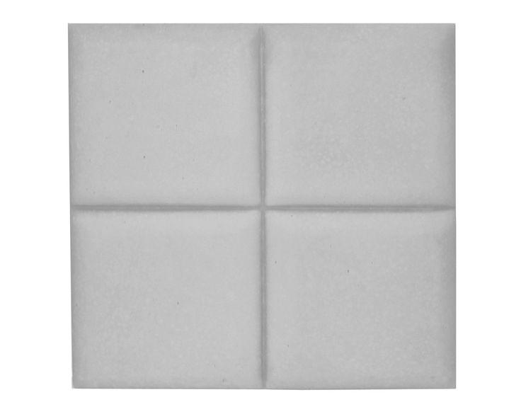 Płytka 3D Pillow - Szara - zdjęcie od Bettoni - Beton Architektoniczny - Sypialnia - Styl Nowoczesny - Bettoni - Beton Architektoniczny
