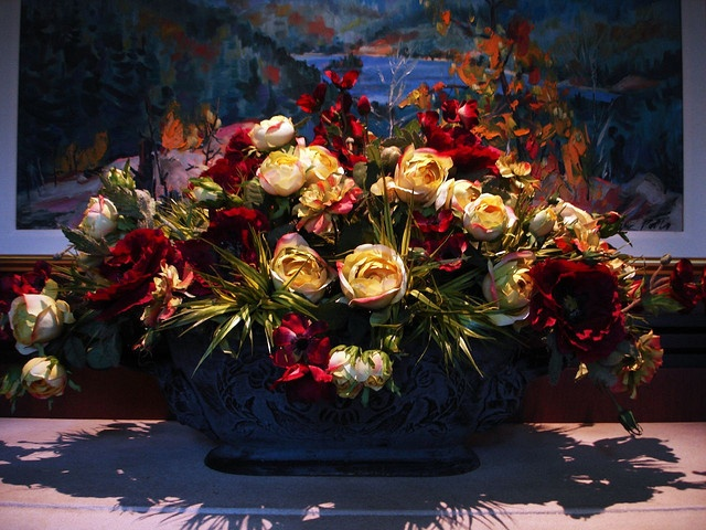 Dry Flower arrangement in Marriot hotel at Niagara Falls