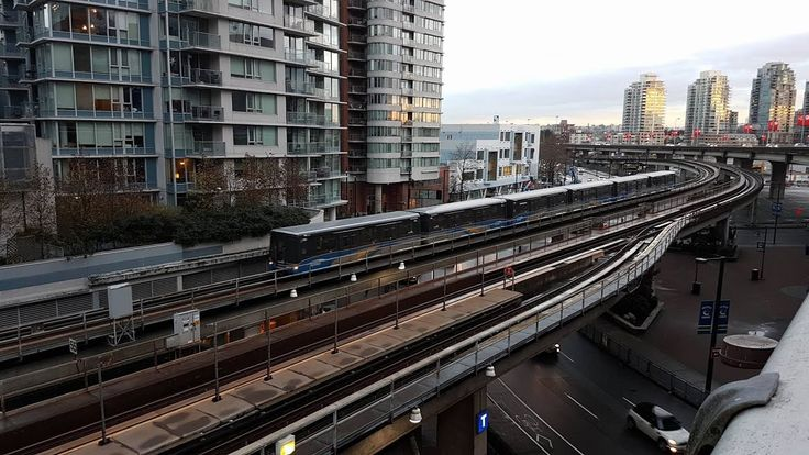 Vancouver Skytrain - World's Largest Automated Metro - YouTube