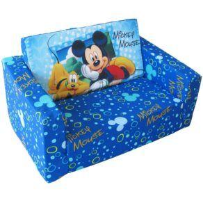 Barnmöbler - Disney - Musse Pigg Soffa