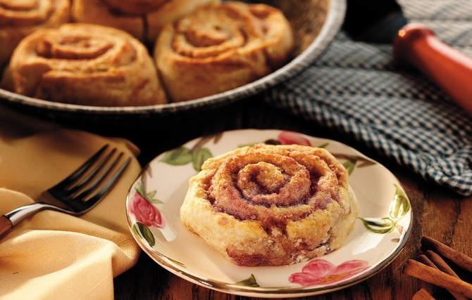 Sweet Cinnamon Biscuits