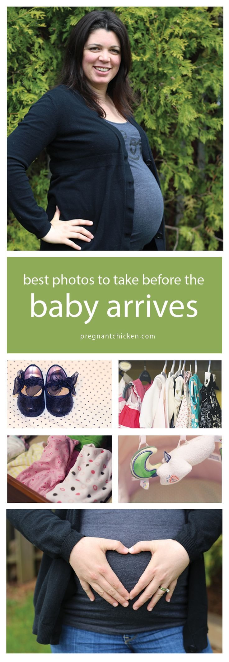Best Photos to Take Before the Baby Arrives