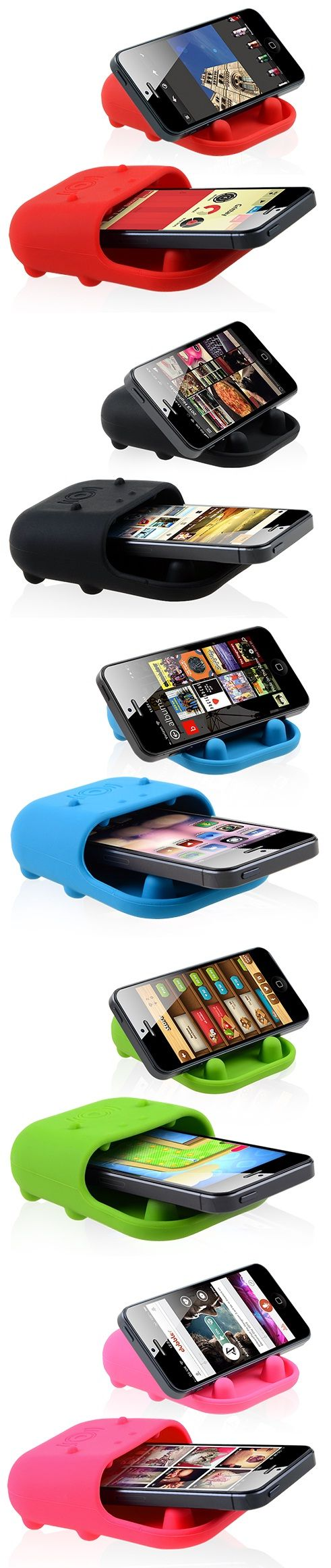 Multi-Functional Acoustic Silicone Speaker for Smartphones #speaker #acoustic #silicone #smartphone #music #speakers $6.24