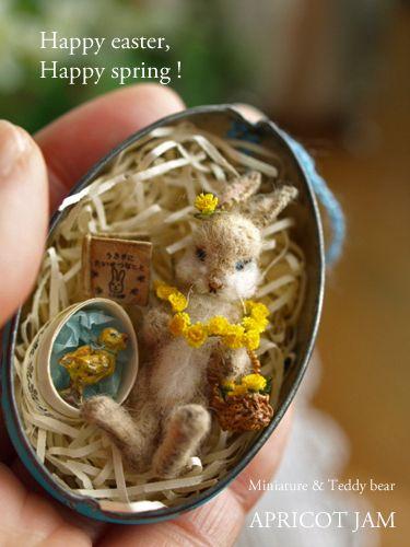 Apricot Jam, lovely dandelion garland!  Just so sweet