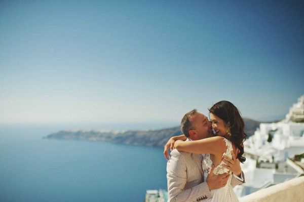 Grecian Inspired Santorini Wedding at the Rocabella Hotel
