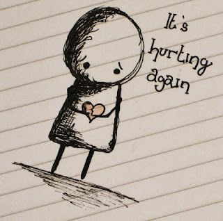 When Love Hurts :'( people think its not a big deal when u get hurt by someone but to some it is. It's suppose to be cry a river build a bridge get over it and move on to the next but....its Easier said then Done its a slow process for some... Glad I'm over the Pain but somedays it does hurt again sighhh