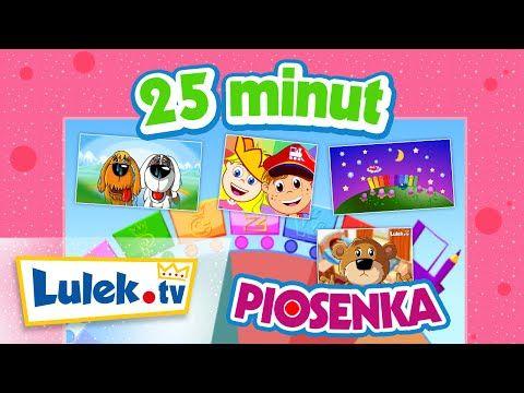 ▶ Zestaw 25 minut - Piosenki dla dzieci - Lulek.tv - YouTube