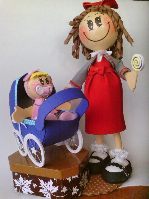 Fofucha con bebe