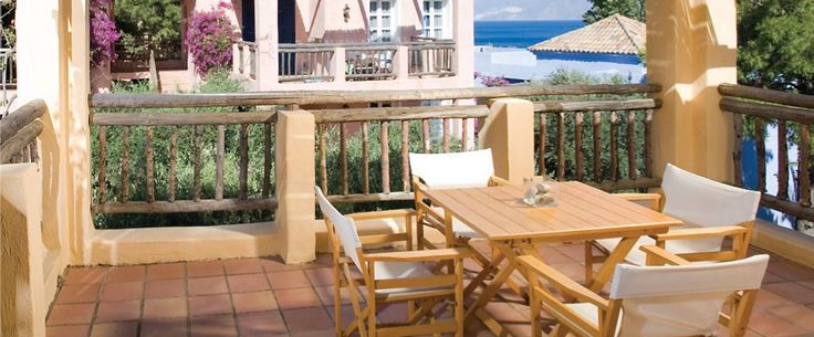 Sea View Suites with furnished veranda at Candia Park Village