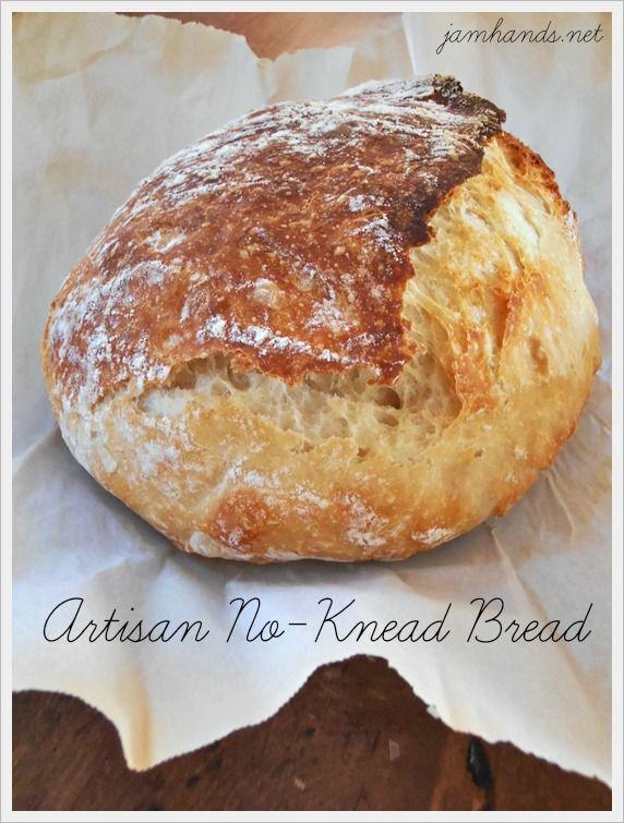 Artisan No-Knead Bread... Vegan