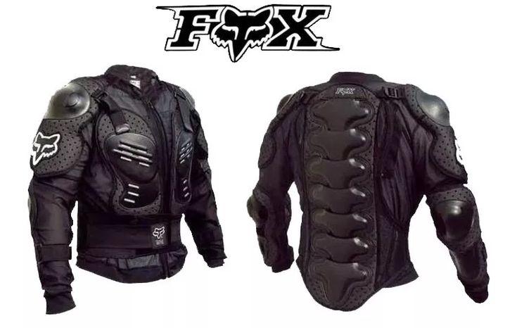 armadura esqueleto fox racing cross pista mtb seguridad au1