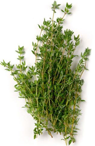 Thyme, either dried or fresh, contains a large amount of antimicrobial compounds that fight against colds and the flu. Thyme also has expectorant properties that can help calm a cough. Next time yo…