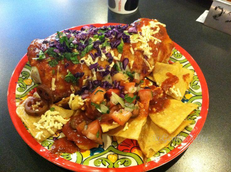 Mucho Mas Wet Burrito Indiana Vegan
