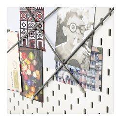 IKEA - SKÅDIS, Elastisch koord, Handig voor het ophangen van foto's, zonnebrillen of sjaals.Eenvoudig te bevestigen en te verplaatsen; geen gereedschap nodig.