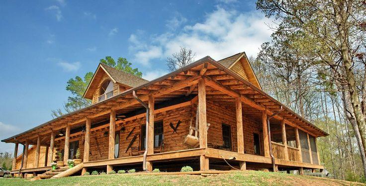 rustic log home plans