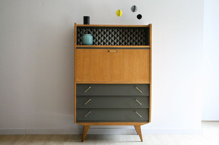 1000 ideas about secretaire meuble on pinterest. Black Bedroom Furniture Sets. Home Design Ideas
