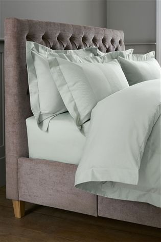 Buy Collection Luxe 300 Thread Count Cotton Waffle Stripe Bed Set from the Next UK online shop