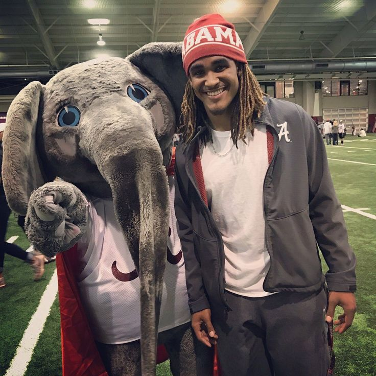 Jalen Hurts and Big Al....RTR!