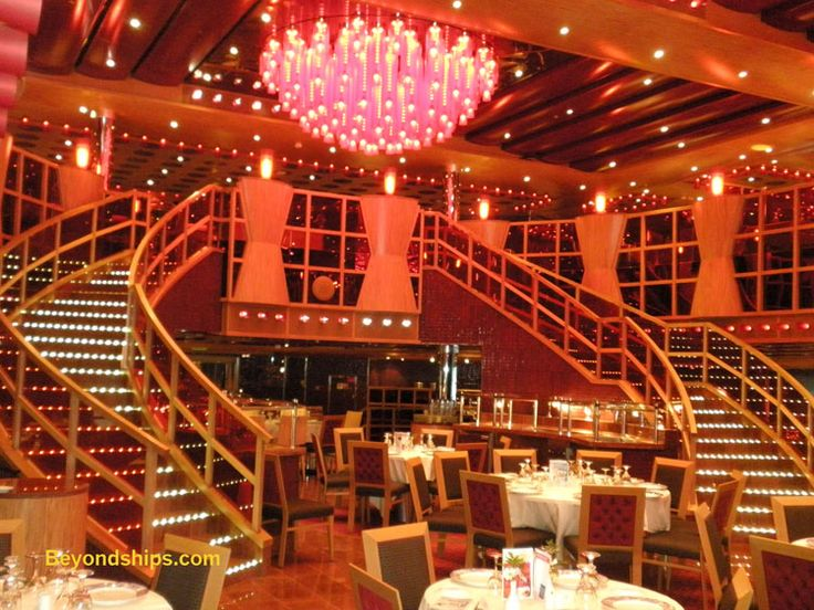 Carnival Dream - Menus Main Dining Rooms