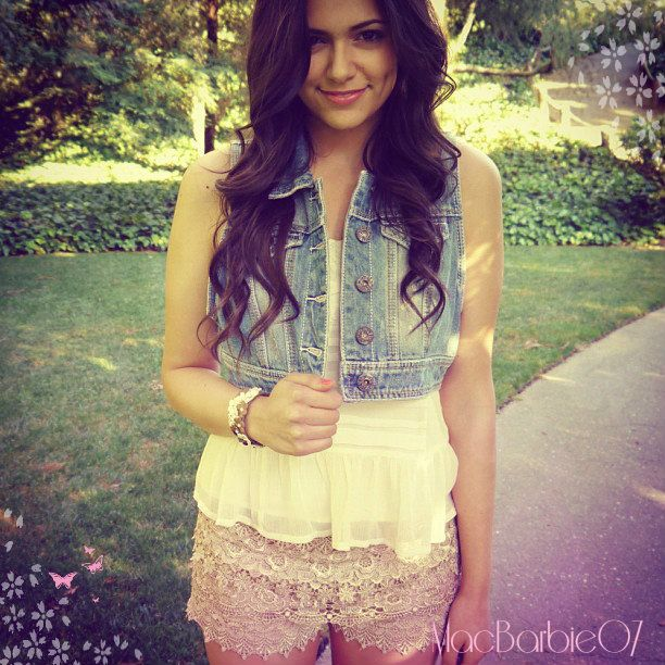 Watch YouTube videos by MacBarbie07 if you want great makeup and fashion advice.