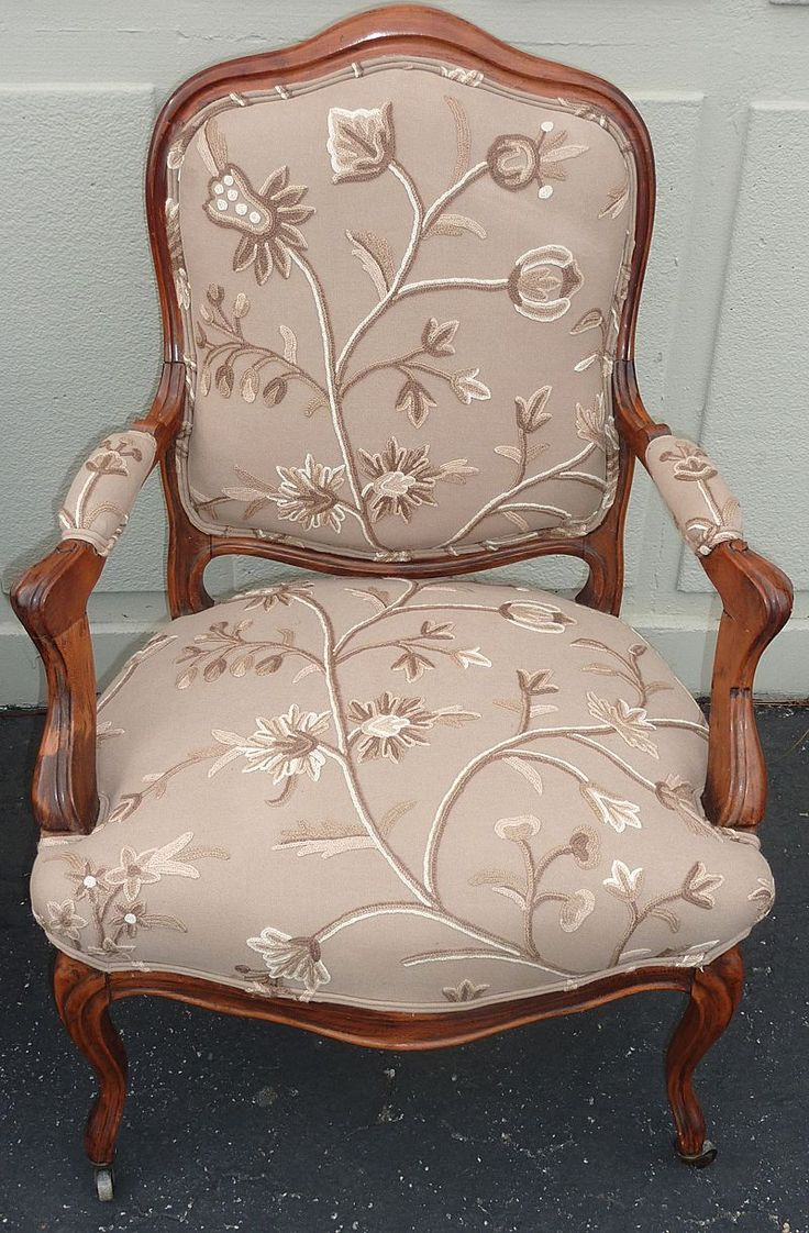 This israel sack american federal mahogany antique lolling arm chair - 1920 Pair Of Louis Xv Style Armchairs With French Upholstery From Placebellecour On Ruby Lane