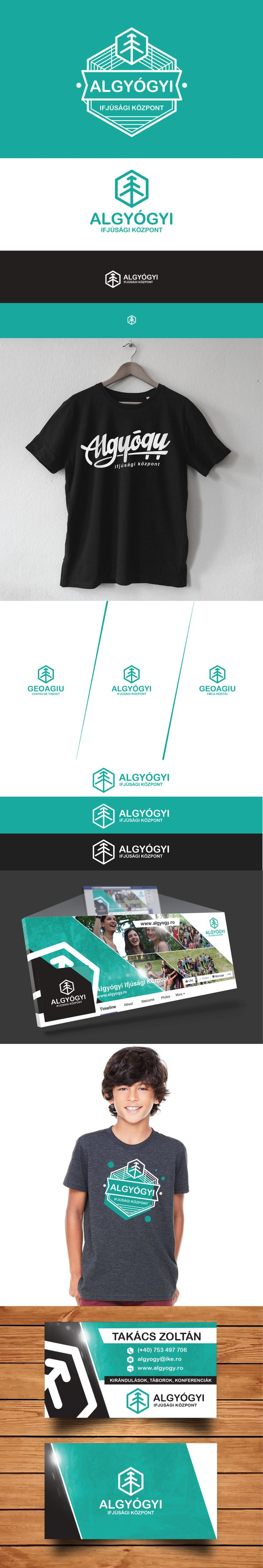 Logo design for a youth center #design #logo #youth #center