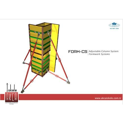 Adjustable Column Formwork